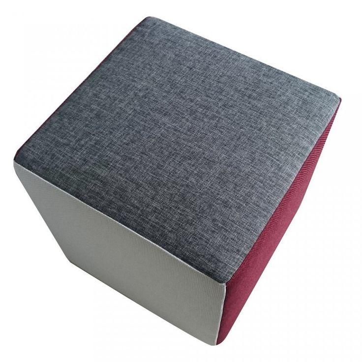 Rubik, Cubo Poggiapiedi in Tessuto Cotone e Poliestere Sfoderabile e Poliuretano Alta Densita disponibile in vari colori e misure. #Arketicom #ArketicomLab #pouf #ottoman #arredamento #artigianato #madeinitaly