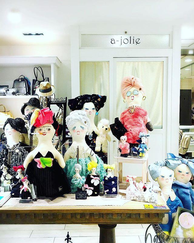 @ajolieodakyu さんで今日から大人形とINITIAL受注会始まりました。...6/23(fri)〜6/30(fri) ..#INITIAL#demodee #bagaccessories