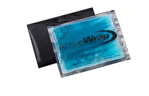 "Hot and Cold Knee/Leg Replacement Inserts by Active Wrap by Active Wrap. $16.99. For use with the ActiveWrap Knee & Leg Model. Complete with two washable nylon protective sleeves (latex free),two thermal inserts and a drawstring storage bag. ActiveWrap 7 x10"" packs are microwave, hotwater, and of course freezer safe. Our pouches may also be filled with crushed ice for emergency or on filed applications to add to their versatillity. Guaranteed to stay soft and mold around yo..."