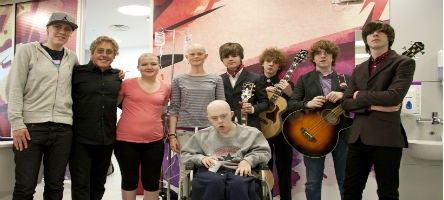 The Who front man, Roger Daltrey CBE, and rhythm and blues band, The Strypes, recently visited a group of our young people at University Col...