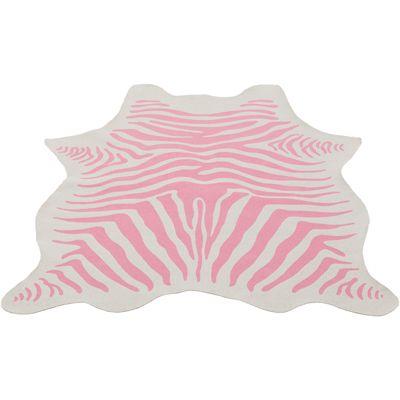 Vloerkleed Zebra pink