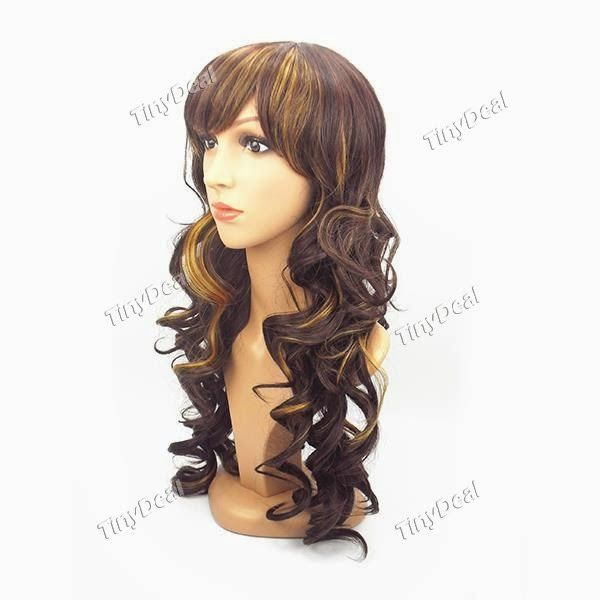 Интернет - магазины : Кудрявый парик для милых девушек и милых женщин, д...