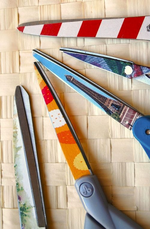 Mod Podge scissors