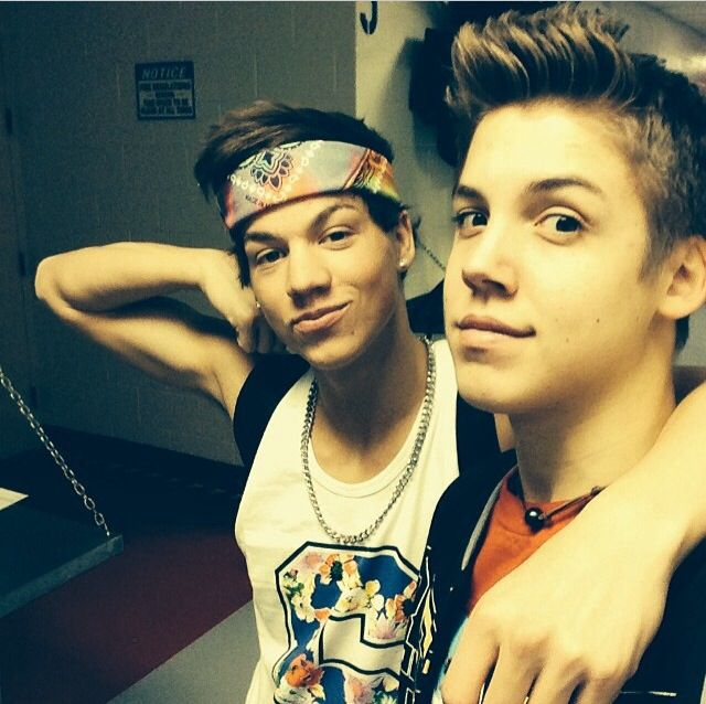 Matthew Espinosa And Taylor Caniff Collage