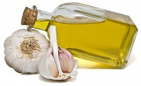 GARLIC OIL eradicate earaches! The medicinal powers of garlic have been used by herbalists for centuries. Because it is easy to keep a supply of fresh garlic, it is simple to make a home remedy to treat ear infections and earaches. Simmer cloves of crushed garlic in extra virgin olive oil for 3 minutes. Strain and then refrigerate for up to 10 days. Drop a few drops of the warm oil into the ear and keep in for at least 10 minutes