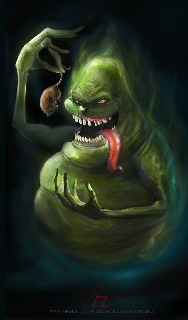 Ghostbusters - Slimer by ~2zer