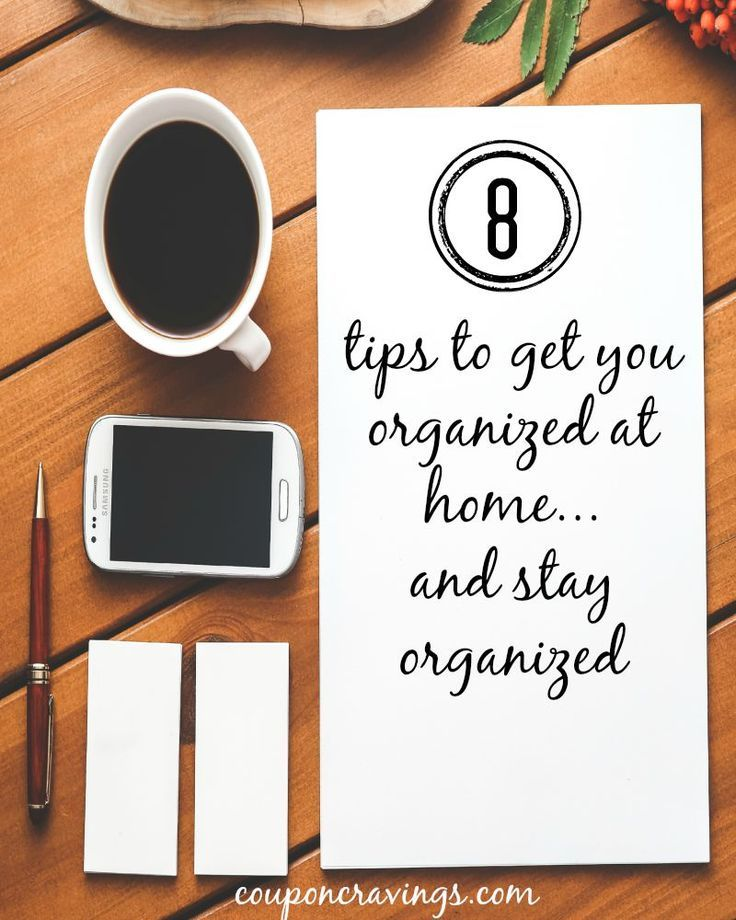 Struggling with staying organized at home? This post shares 8 tips on getting organized that I use myself, too. It's not at all as hard as it may seem. It pays to have an organized home. {read more}