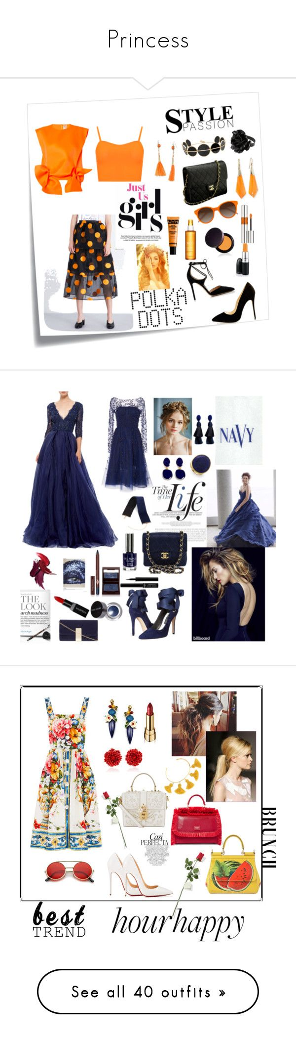 """""""Princess"""" by indstargazer0804 ❤ liked on Polyvore featuring Post-It, Ganni, Maison Rabih Kayrouz, WearAll, Gianvito Rossi, Anissa Kermiche, Yves Saint Laurent, Robert Rose, Alexis Bittar and Chanel"""