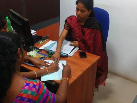 Application issuing process which was held during the admission at Alagappa Institute of Technology. See more - http://goo.gl/s4rxPP