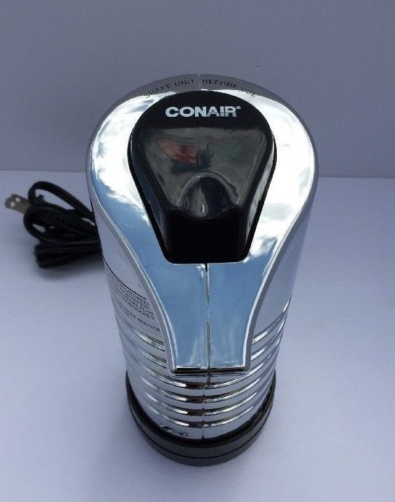 Conair HLM11CH Instant Hot Lather Machine Shaving Cream Warmer Chrome Finish #Conair
