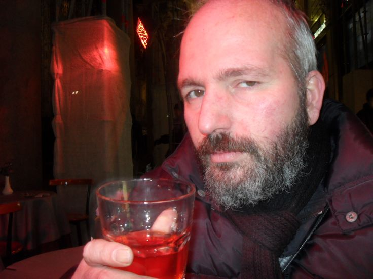 Milan...last drink before flying to Poland