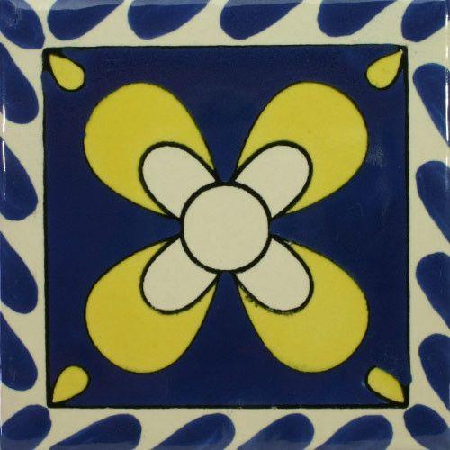Especial Decorative Tile - Mono Azul Y Amarilla