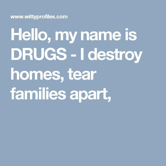 121 Best Destroying Families Drug Addiction Images On: 17 Best Ideas About Drug Poems On Pinterest