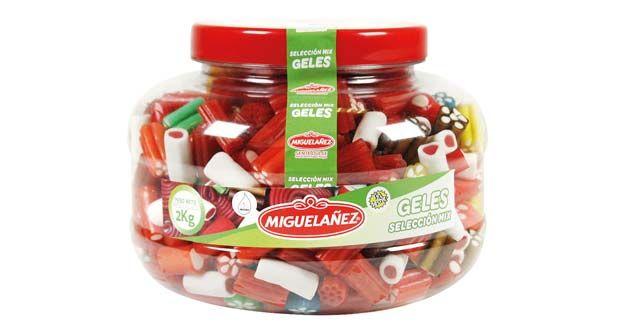 Selección Mix Geles Maxi, de Migueláñez: Nuevo envase con un mix de geles dulces.