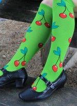 Sweet Cherries Knew High socks - buy now from The Asockalypse