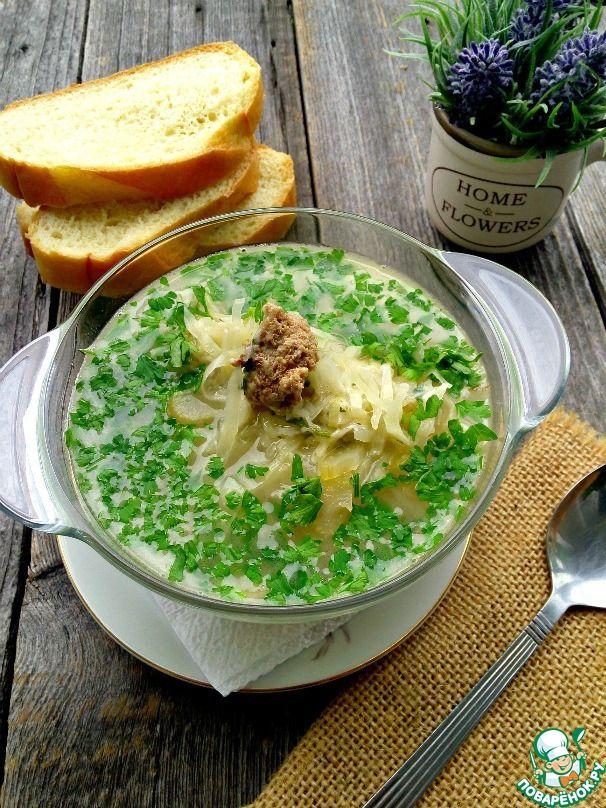 Итальянский крестьянский суп ингредиенты