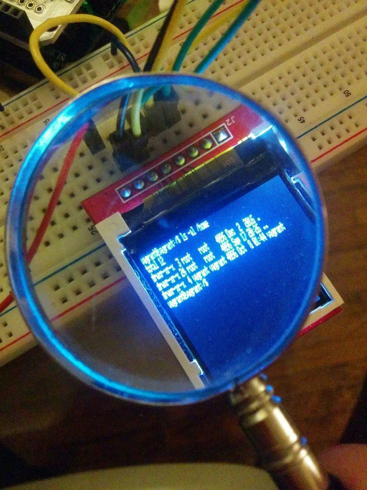 """A tiny, wearable, Arduino-powered VT 100 terminal  