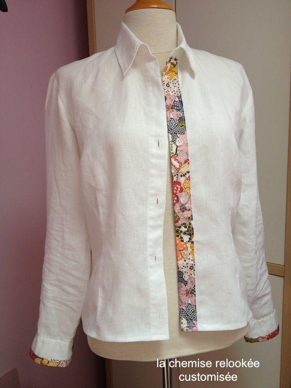 Relativ Plus de 25 idées uniques dans la catégorie Customiser chemise sur  PR15