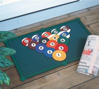 Full Rack Doormat Pool | Billiards | Snooker