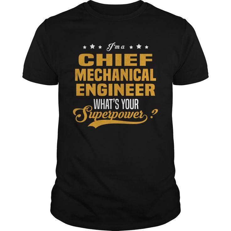 Chief Mechanical Engineer