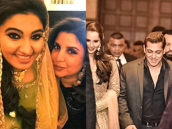 Pics: Salman Khan, Farah Khan and more made Sania Mirza's sister's 'Sangeet' so glamorous