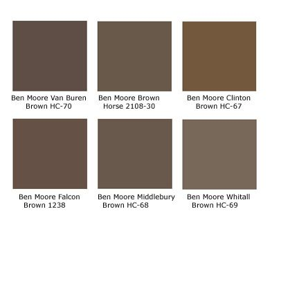 1000 Images About Benjamin Moore Browns Browntones On Pinterest