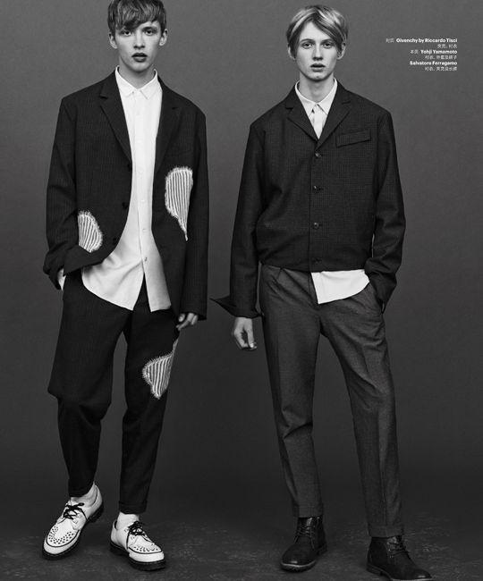 "Christos: Valters Medenis And Benji Allen In ""Generation N"