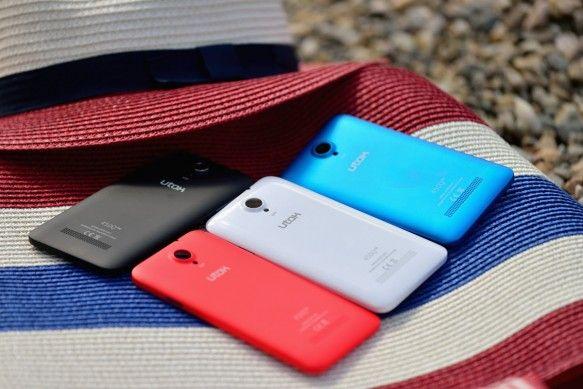 UTOK 450Q – un smartphone in culori on http://www.fashionlife.ro