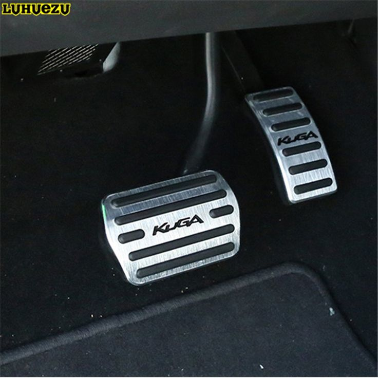 aluminium alloy brake pedal pedale cover  ford kuga escape