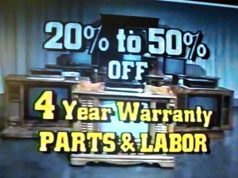 Curtis Mathes Commerical, Ten Million Dollar Sell. 4 year warranty on parts and Labor.