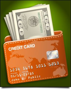 credit card cash in advance