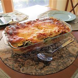 Vegetarian Lasagna (Spinach)
