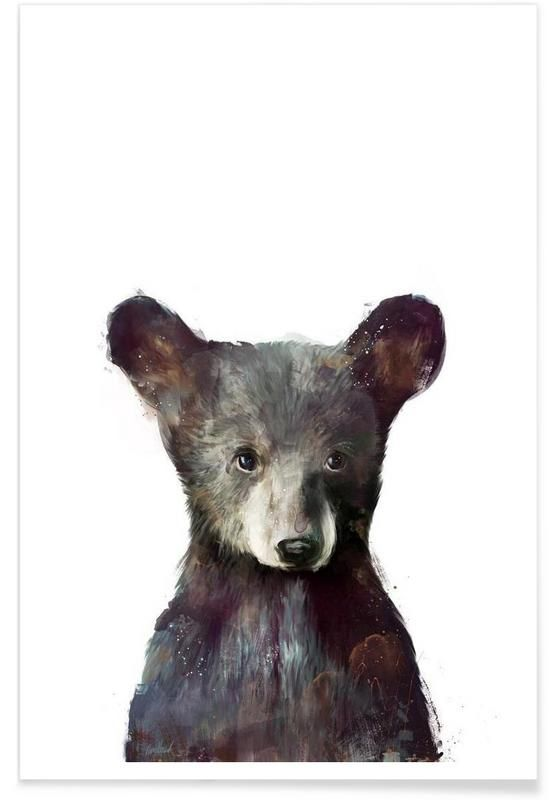 Little Bear als Premium Poster von Amy Hamilton | JUNIQE