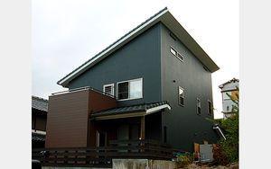 片流れ屋根の外観 画像まとめ(建築家 おしゃれ 勾配 軒高 太陽光 ローコスト など - NAVER まとめ