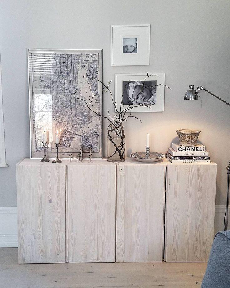 So schlicht und schön mit IKEA IVAR Schränken