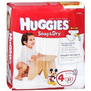 $2/1 Huggies Diapers Coupon + Target Coupon = $4.09 Jumbo Pack!