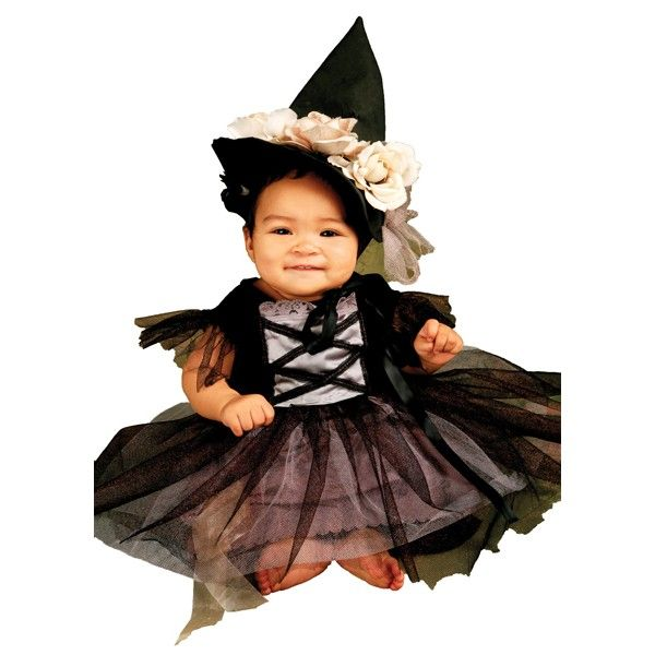 Dress your little one in the Lace Witch Infant / Toddler Costume to show the neighborhood that witches can be as sweet as candy!