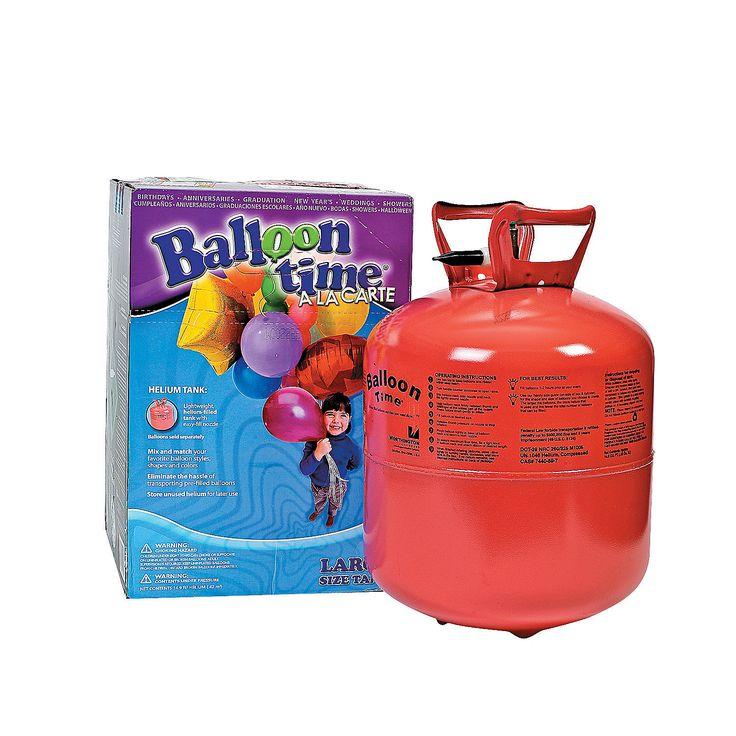Large Helium Tank - OrientalTrading.com