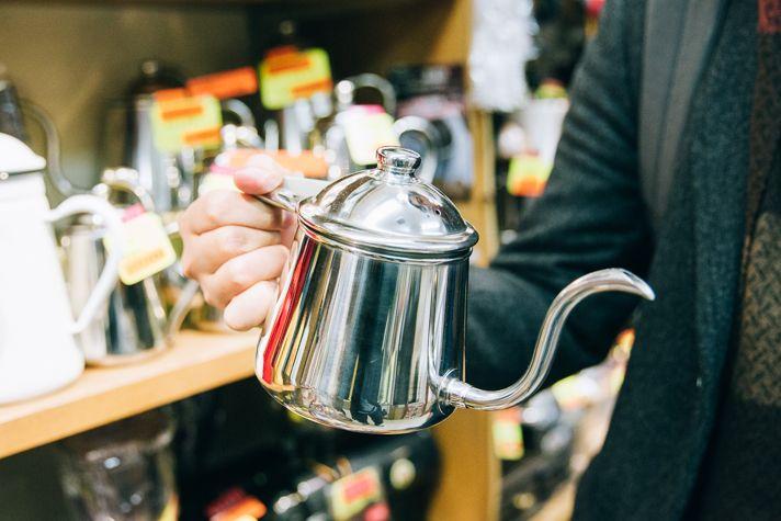 タカヒロケトル | 5 Unique Japanese Coffee Equipment 〜 日本製の素晴らしいコーヒー器具5選