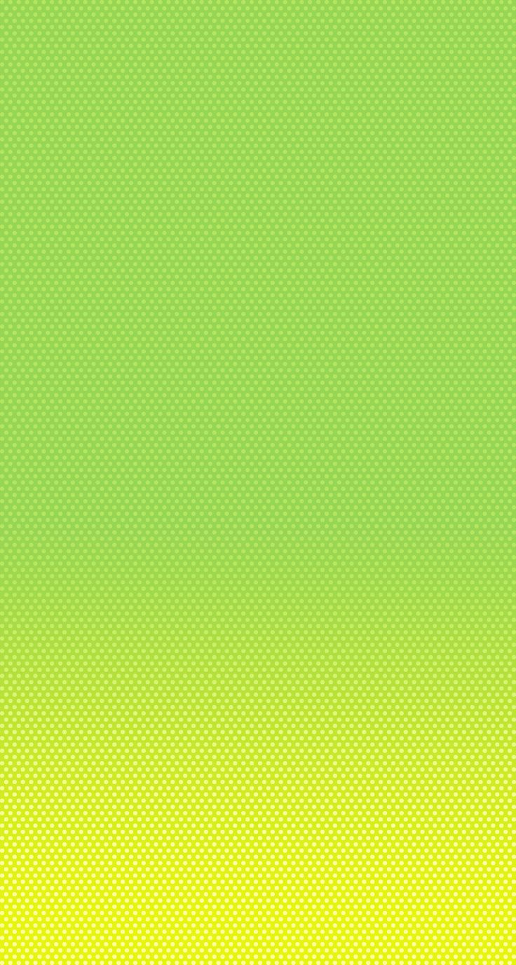 Dynamic Wallpapers For Iphone 7 Iphone 5 Wallpaper Ios7 Green Yellow Iphone5c Ios 7