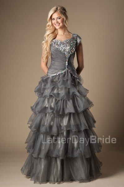 Casanova Modest Wedding Dress Latter Day Bride Prom Gateway Bridal