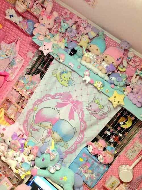 fairy kei bedroom