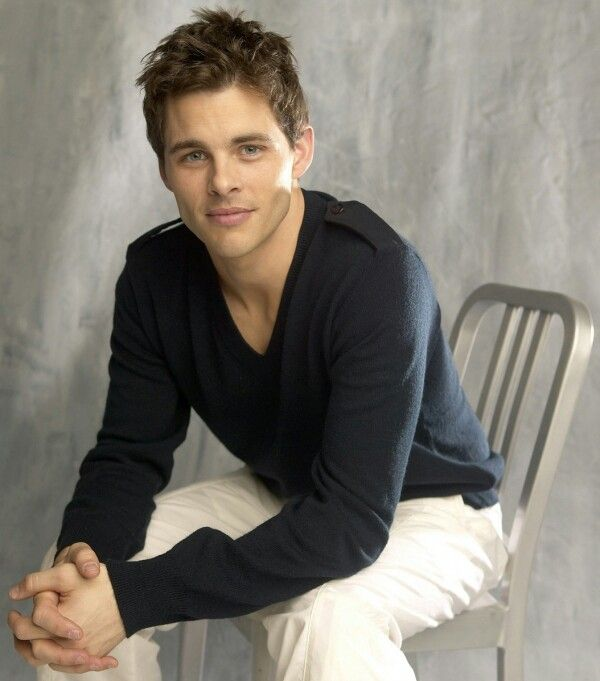 James Marsden. Wow seriously one of the most handsome men alive! His face is perfection.