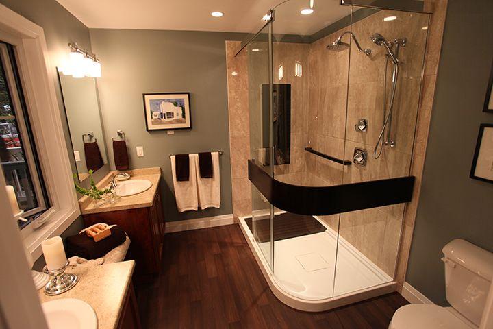 Hardwood In Bathroom Photos Design Ideas