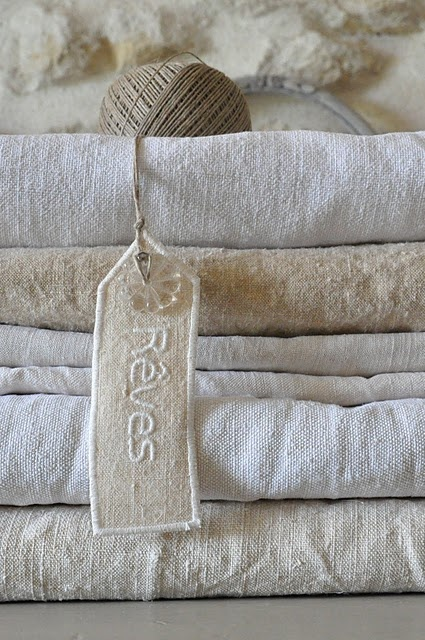 <3Tags, Shabby Chic Decor, French Linens, White Linens, Textiles, Sweets Dreams, Fabrics, Vintage Linens, Antiques Linens