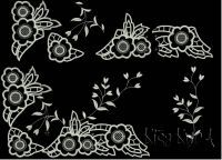 Кружево, ришелье, хардангер, мережка - Дизайны созданные форумчанами - New embroidery