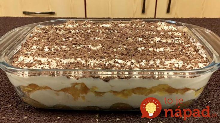 Vynikajúci dezert, ktorý určite dobre poznáte – vyskúšajte svieže Tiramisu sluxusným vylepšením!