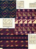 Victoria - Handmade Creations : Σχέδια ζακάρ για πλεκτά με βελόνες, που ξεχωρίζουν