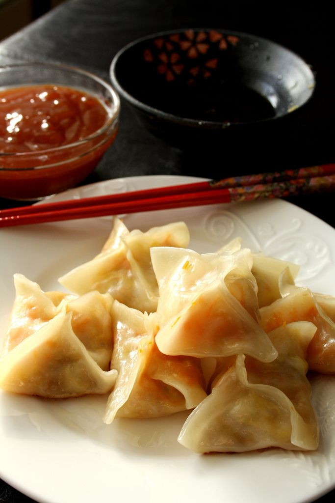 Veggie Potstickers.....always wanted to make these.....