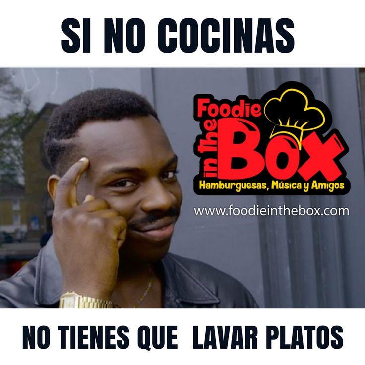 #FoodieInTheBox Si no cocinas no tienes que lavar platos. Además que rico a esta hora un Foodie Desayuno. ¡Pide ahora! http://foodieinthebox.com/